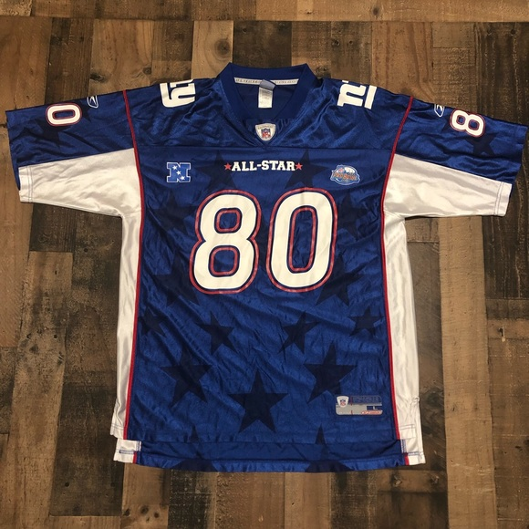 newest 35875 4e1f6 Jeremy Shockey New York Giants Pro Bowl NFL Jersey